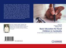 Portada del libro de Basic Education for Rural Children in Cambodia