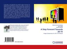 Buchcover von A Step Forward Towards 3D TV