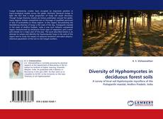 Copertina di Diversity of Hyphomycetes in deciduous forest soils