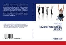 Couverture de COMPUTER APPLICATION IN BUSINESS