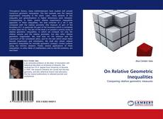 Bookcover of On Relative Geometric Inequalities