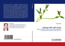 Bookcover of coping with salt stress