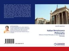 Обложка Italian Renaissance Philosophy
