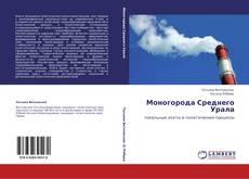 Моногорода Среднего Урала的封面