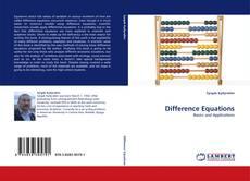 Copertina di Difference Equations
