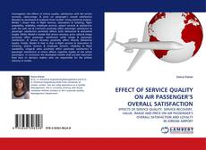 Bookcover of EFFECT OF SERVICE QUALITY ON AIR PASSENGER'S OVERALL SATISFACTION