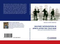 Обложка MILITARY INTERVENTION IN AFRICA AFTER THE COLD WAR