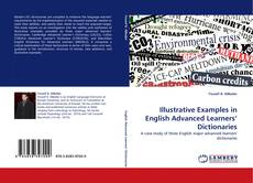 Illustrative Examples in English Advanced Learners'' Dictionaries kitap kapağı