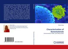 Bookcover of Characterization of Nanomaterials
