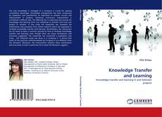 Bookcover of Knowledge Transfer and Learning