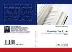 Bookcover of Linguistics Manifesto