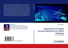Buchcover von Implications of Capital Account Openness for Indian Economy