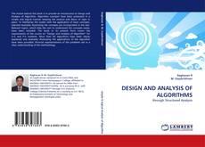 DESIGN AND ANALYSIS OF ALGORITHMS的封面