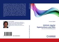 Portada del libro de Intrinsic regular hypersurfaces and PDEs