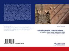 Buchcover von Development Sans Humans...