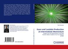 Bookcover of Kaon and Lambda Production at Intermediate Momentum