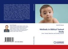 Обложка Methods in Biblical Textual Study