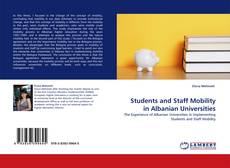 Capa do livro de Students and Staff Mobility in Albanian Universities
