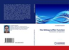 The Mittag-Leffler Function kitap kapağı