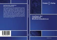 Copertina di Lexikon der religiösen Missverständnisse