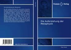 Buchcover von Die Auferstehung der Metaphysik