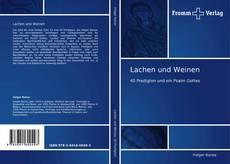 Capa do livro de Lachen und Weinen