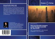 Bookcover of Herausforderungen und Stolpersteine   in Korinth