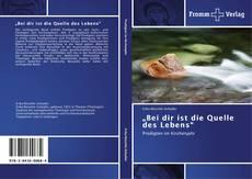 "Capa do livro de ""Bei dir ist die Quelle des Lebens"""