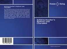 Portada del libro de Schleiermacher's Räthsel und Charaden