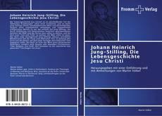 Capa do livro de Johann Heinrich Jung-Stilling, Die Lebensgeschichte Jesu  Christi