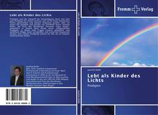 Capa do livro de Lebt als Kinder des Lichts