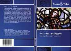 Couverture de viva vox evangelii
