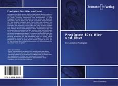 Capa do livro de Predigten fürs Hier und Jetzt