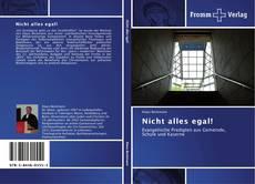 Capa do livro de Nicht alles egal!