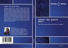 Bookcover of Immer das ganze Herz