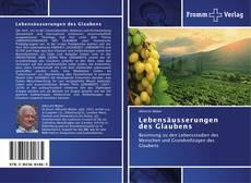 Lebensäusserungen des Glaubens kitap kapağı