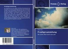 Capa do livro de Predigtsammlung