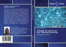Buchcover von Glaube im Horizont der Säkularisierung