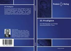 Capa do livro de 35 Predigten