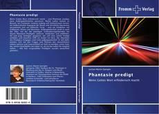 Buchcover von Phantasie predigt