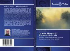 Cantus firmus - Weihnachtskreis kitap kapağı