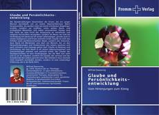 Buchcover von Glaube und Persönlichkeitsentwicklung