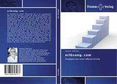 Capa do livro de erlösung. com