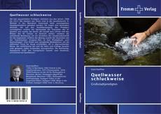 Capa do livro de Quellwasser schluckweise