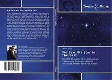 Buchcover von We Saw His Star in the East