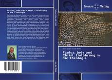 Bookcover of Paulus: Jude und Christ. Einführung in die Theologie