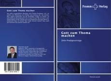 Buchcover von Gott zum Thema machen
