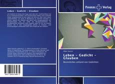 Leben - Gedicht - Glauben kitap kapağı