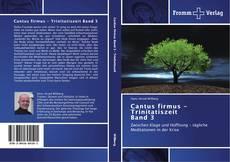 Buchcover von Cantus firmus - Trinitatiszeit  Band 3