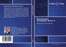 Capa do livro de Buxtehuder Predigten Band II